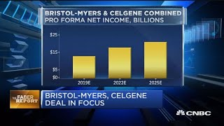 Bristol-Myers, Celgene deal in focus