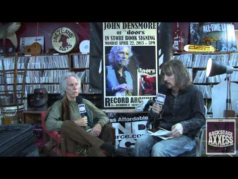 John Densmore of The Doors Interview 2013 (HD) with BackstageAxxess.com