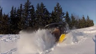 Renegade XXC 1000+ Commander 800 deep powder!
