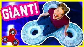 DIY GIANT FIDGET SPINNER!
