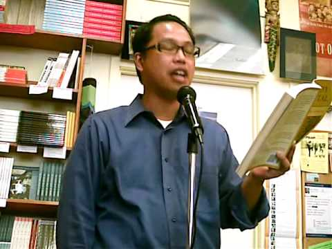 Reading at Eastwind Books in Berkeley, April 2009