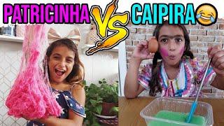 TIPOS DE CRIANÇA FAZENDO SLIME PATRICINHA VS CAIPIRA  #3