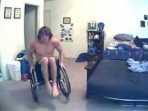 larry wheelchair tricks