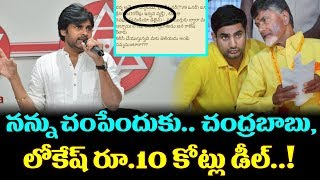 Pawan Kalyan Fire And Tweets On Chandrababu | JanaSena Chief Pawan Kalyan in Film Chamber