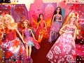 Recamaras de Barbie: Estrella del pop y Puerta Secreta 1ra parte/Barbie Playset Popstar 1st Part