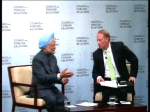 A Conversation with Prime Minister Dr. Manmohan Singh
