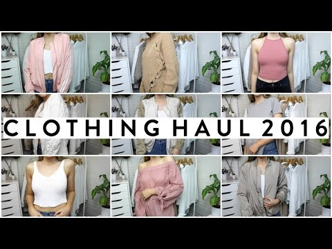 BACK TO SCHOOL TRY ON CLOTHING HAUL 2016 FT. FASHION NOVA, NA-KD, WEARALL + MORE