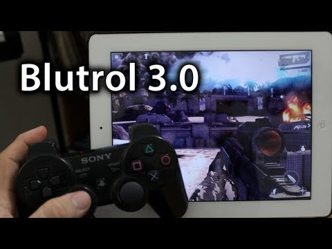 How To Connect A PS3 Controller To An iPad / iPhone / iPod touch With Bluetrol 3.0