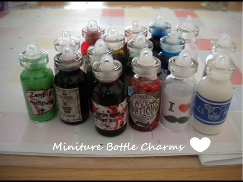 Miniature Bottle Charms Update #1
