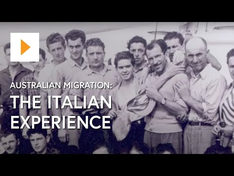 Australian Migration - The Italian Experience