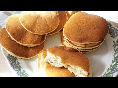 ПАНКЕЙКИ нежные/pancakes.Как сделать одинаковые,ровные панкейки.