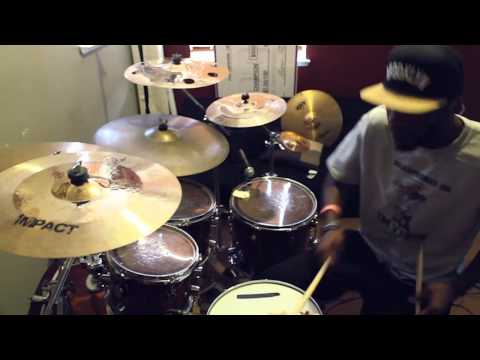 Andy Mineo - Paganini (Black Knight Drum Cover) || (@bkcreationz @andymineo)