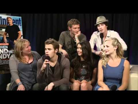 Comic-Con 2011 - The Vampire Diaries interview