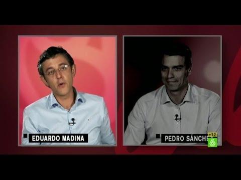 El test de Thais Villas a Eduardo Madina y Pedro Sánchez -...