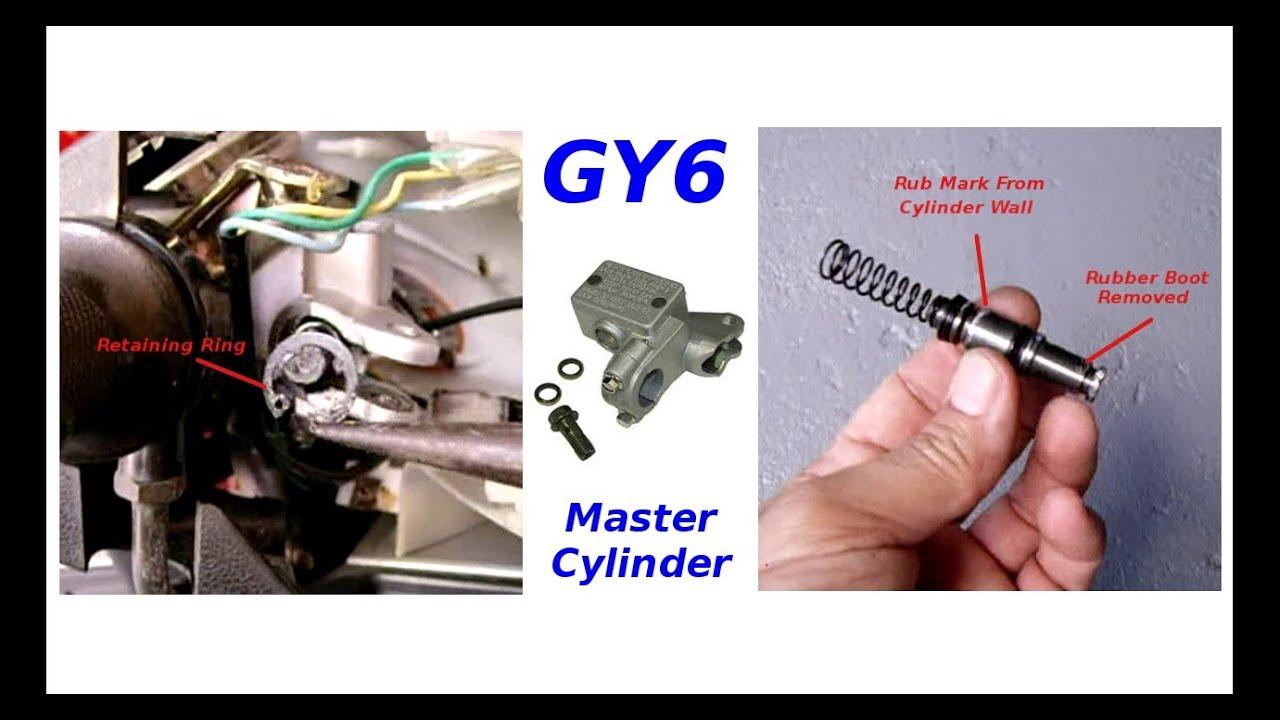 brembo rear master cylinder rebuild instructions