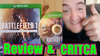 Critica&Review -BATTLEFIELD 1- Mi Opinion en XBOX ONE
