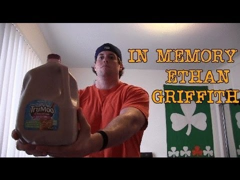 R.I.P Ethan Griffith (Chocolate Milk Gallon Challenge)