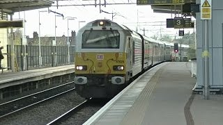 Belmond British Pullman/Grand National Special at Crewe and Liverpool South Parkway