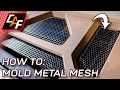 PROTECT Speakers Amps AWESOME CUSTOM Molded Metal Mesh - CarAudioFabrication