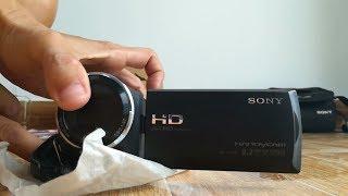Bán máy quay phim cầm tay mua ở Nguyễn Kim. Handy Cam - Sony HDR CX240E. Zoom 54x. Call 0937008446