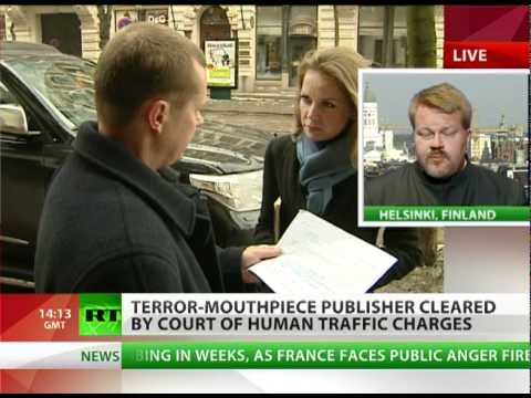 Well Linked: Terror mouthpiece publisher acquitted in Finland