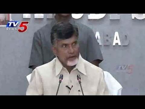 Chandrababu Given Complete Information about Srisailam Power Project : TV5 News