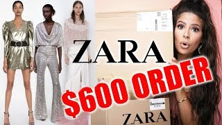 I SPENT $600 ON ZARA CLOTHES TRY ON HAUL ...ohhh boy!