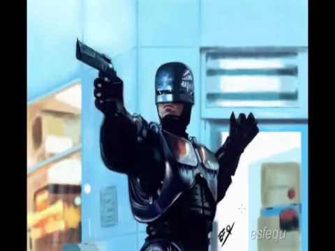 Speed Painting : Robocop by efq esfequ