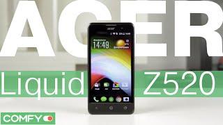 Acer Liquid Z520 DualSim - доступный смартфон для мультимедийных задач - Видеодемонстрация от Comfy