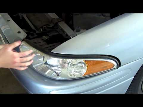 How to Change Headlights on a Buick LeSabre 2000-2005