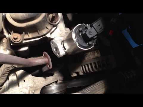 Town and Country EGR Valve Replacement Without Removing the Alternator