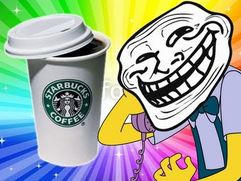 Piss in my Starbucks Coffee - Prank call - Trolling all over the phone