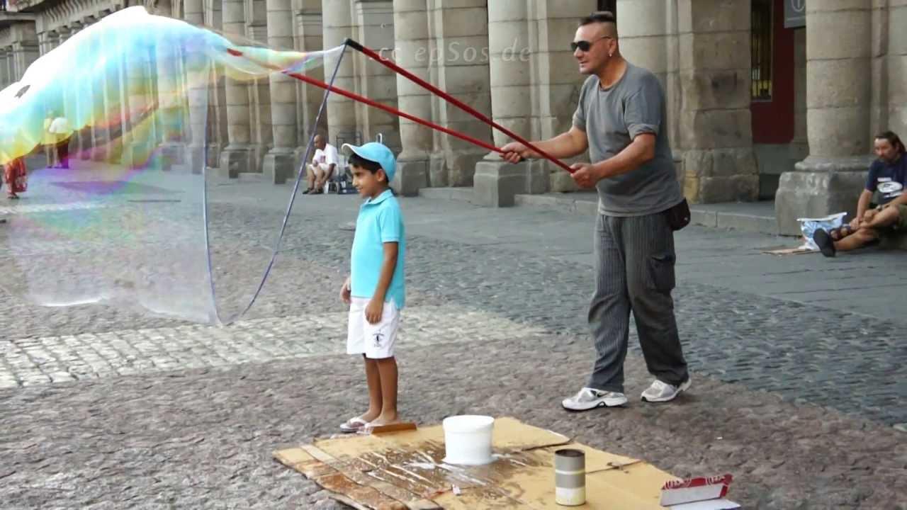 Largest Soap Bubble Largest Soap Bubble With Boy