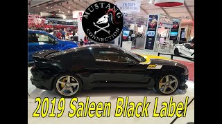 800HP Supercharged 2019 Saleen 302 Black Label