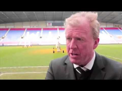 WIGAN ATHLETIC 0-2 DERBY COUNTY I Steve McClaren Post Match