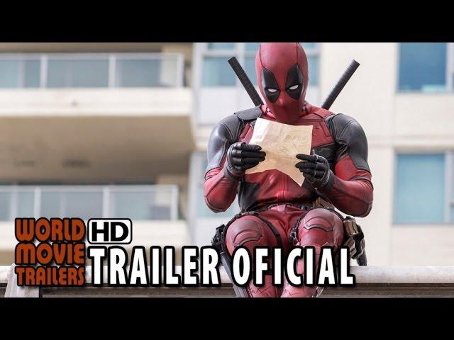 DEADPOOL Trailer Oficial Legendado (2016) - Ryan Reynolds HD