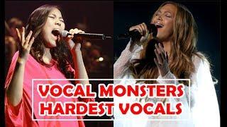 VOCAL MONSTERS - HARDEST VOCALS