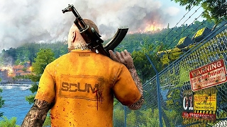 SCUM - First Gameplay Demo (Prison Riot Open World Survival Game 2017)