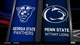 Georgia State at Penn State - Football Highlights