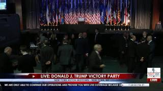Full Event: Donald Trump Victory Sch 11/8/16