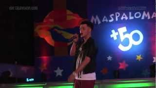 Jaymi Hensley at Maspalomas Pride 2012