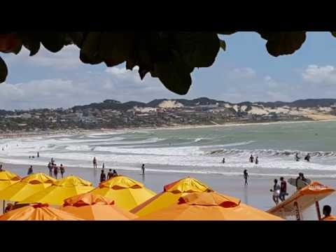Playa de PONTA NEGRA, Natal - Brasil