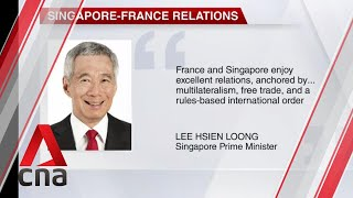 Singapore Prime Minister Lee Hsien Loong congratulates new French PM Jean Castex