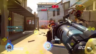 Overwatch playing competitive