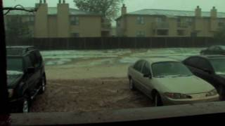 Hail Storm in Oklahoma City - 16 May 2010 - HD 720p