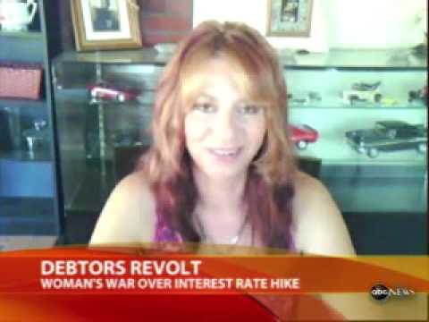 Woman Declares War on Bank and Wins!