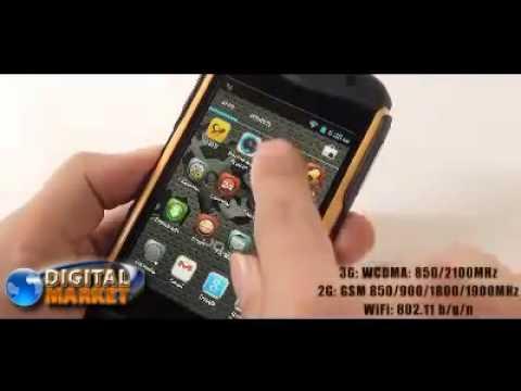 Smartphone Discovery V5 a Prova dagua c Android 4 0