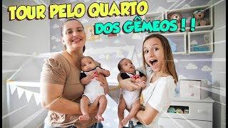 TOUR PELO QUARTO DOS GÊMEOS GALVÃO