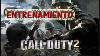Call of Duty 2 Gameplay: Walkthrough/Let's Play/Mision #1