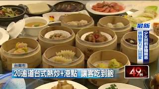 台南大飯店【食選任意點】全新開幕